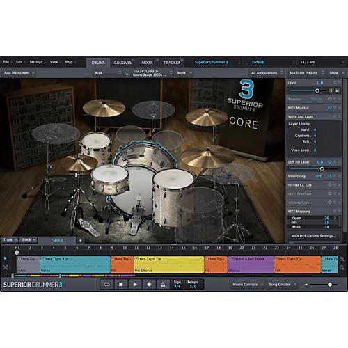 Toontrack Superior Drummer 3.0 Crossgrade from EZDrummer 2 VSSD thumbnail