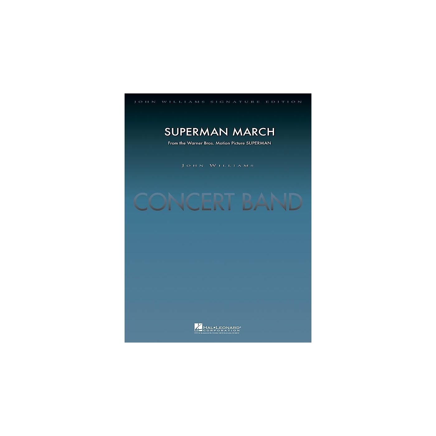 Hal Leonard Superman March (Deluxe Score) Concert Band Level 5 Arranged by Paul Lavender thumbnail