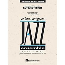 Hal Leonard Superstition Jazz Band Level 2 Arranged by Paul Murtha