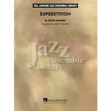 Hal Leonard Superstition Jazz Band Level 4 by Stevie Wonder Arranged by Mike Tomaro