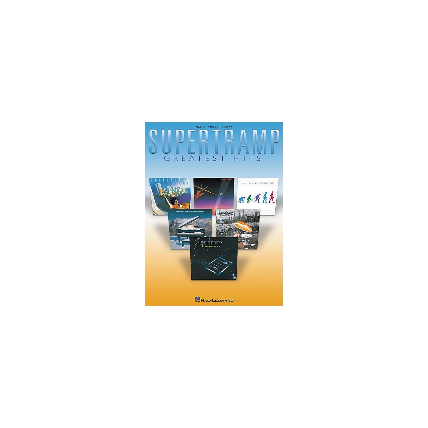Hal Leonard Supertramp Greatest Hits Songbook thumbnail