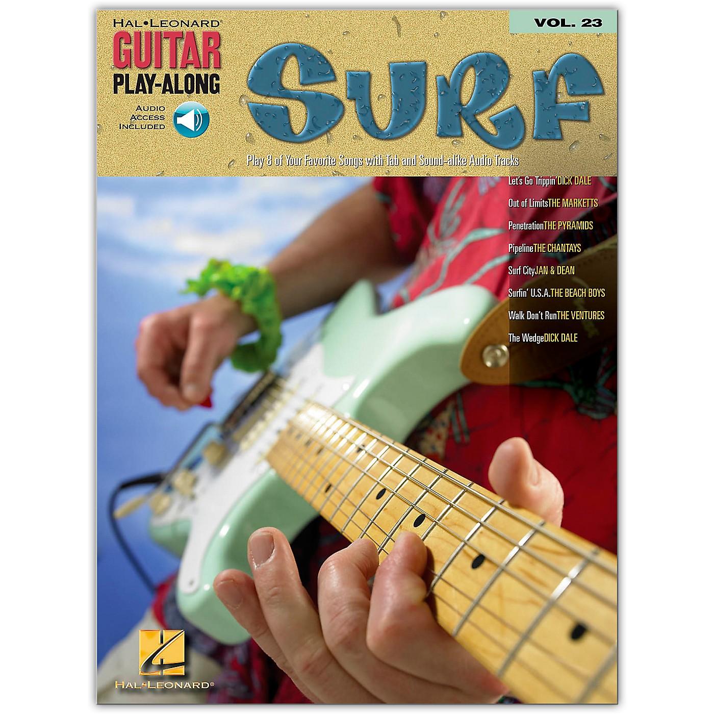 Hal Leonard Surf Guitar Play-Along Series Volume 23 (Book/Online Audio) thumbnail