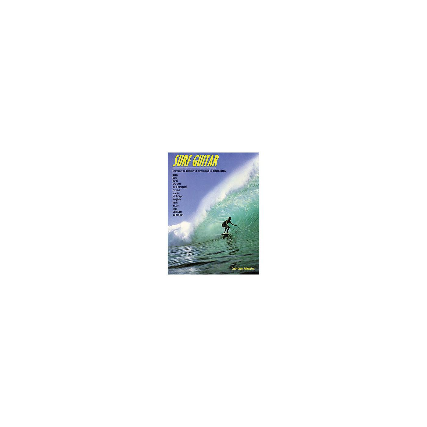 Creative Concepts Surf Guitar Tab Songbook thumbnail