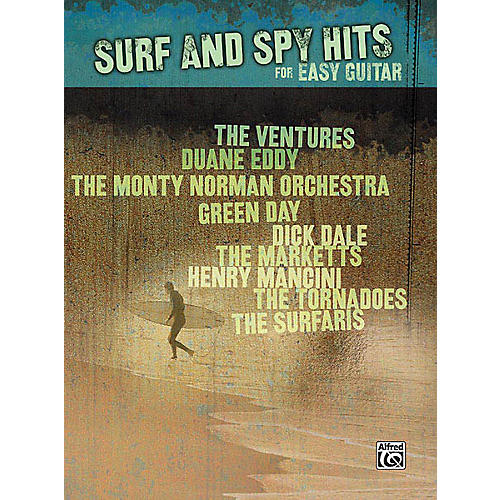 Hal Leonard Surf and Spy Hits for Easy Guitar Easy Guitar Series Softcover Performed by Various thumbnail