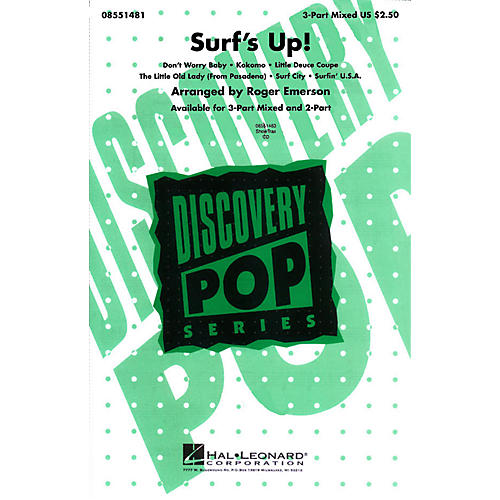 Hal Leonard Surf's Up! (Medley) 3-Part Mixed arranged by Roger Emerson thumbnail