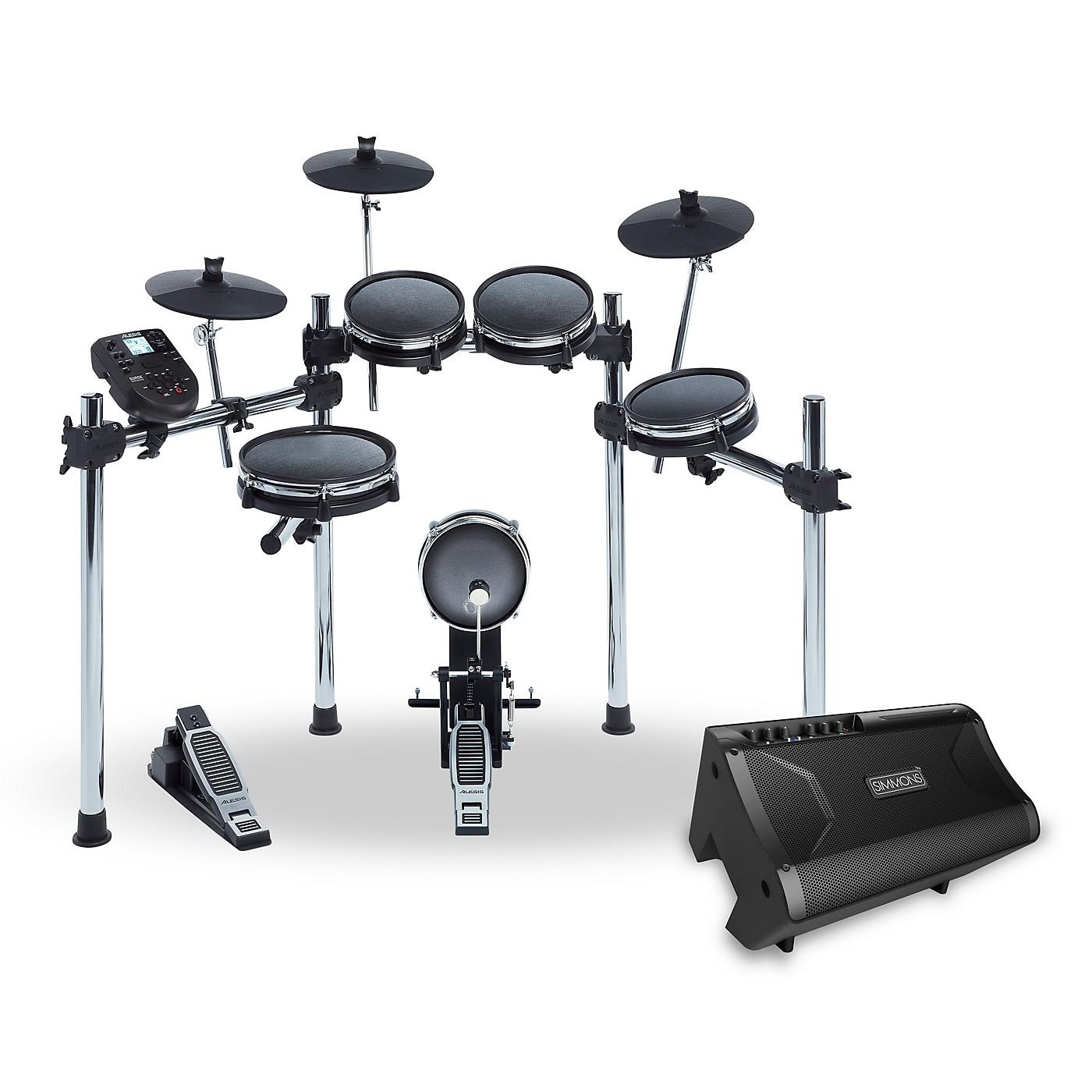Simmons Surge Mesh Electronic Drum Kit and Simmons DA2110 Drum Set Monitor thumbnail