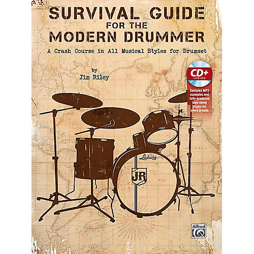 Alfred Survival Guide for the Modern Drummer Book & CD thumbnail
