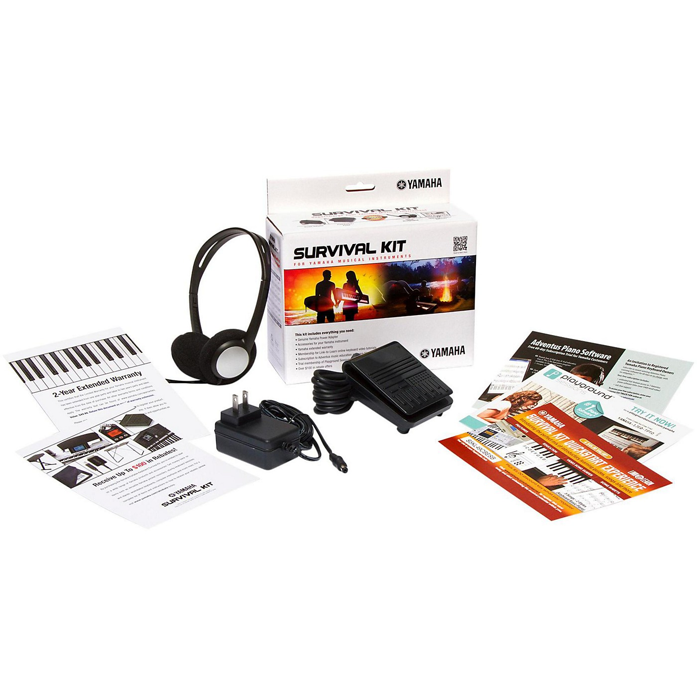 Yamaha Survival Kit D2 for PSR-E463, YPG-535 and NP-32 thumbnail