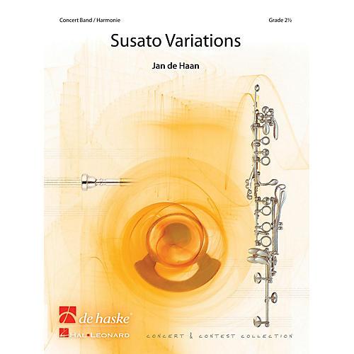 De Haske Music Susato Variations Concert Band Level 3 Composed by Jan de Haan thumbnail