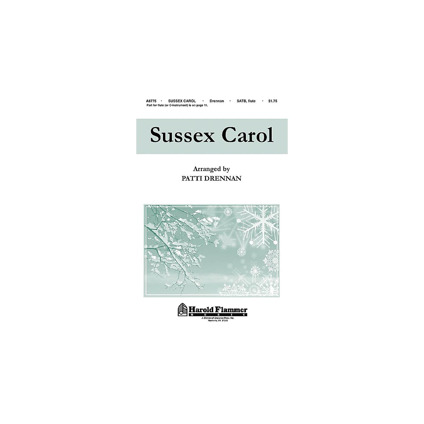 Hal Leonard Sussex Carol SATB thumbnail