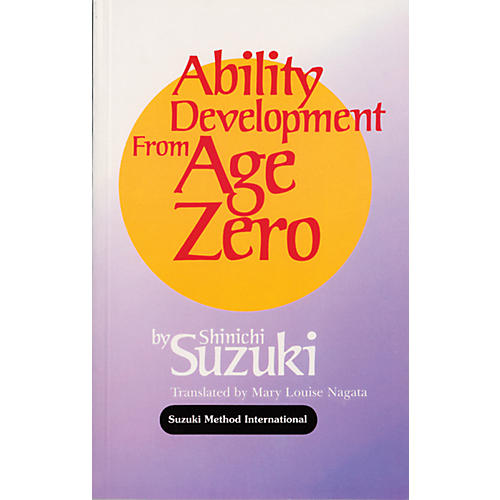 Alfred Suzuki Ability Development from Age Zero (Book) thumbnail