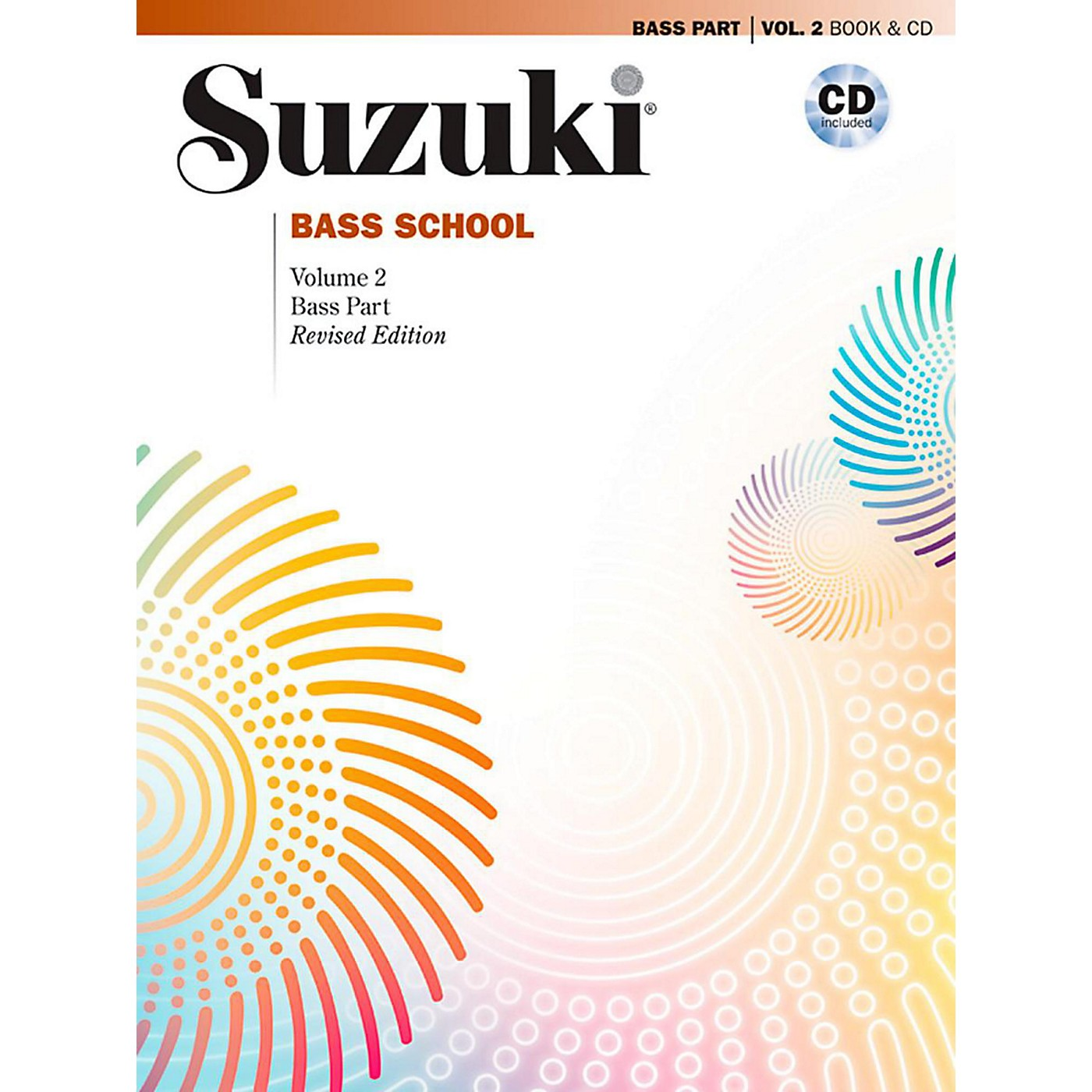 Suzuki Suzuki Bass School Book & CD Volume 2 (Revised) thumbnail