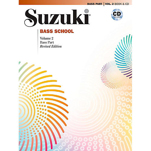 Suzuki Suzuki Bass School Book & CD Volume 2 (Revised) thumbnail