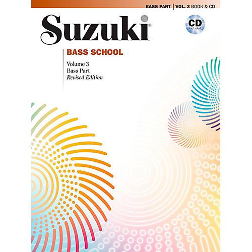 Suzuki Suzuki Bass School Book & CD Volume 3 (Revised) thumbnail