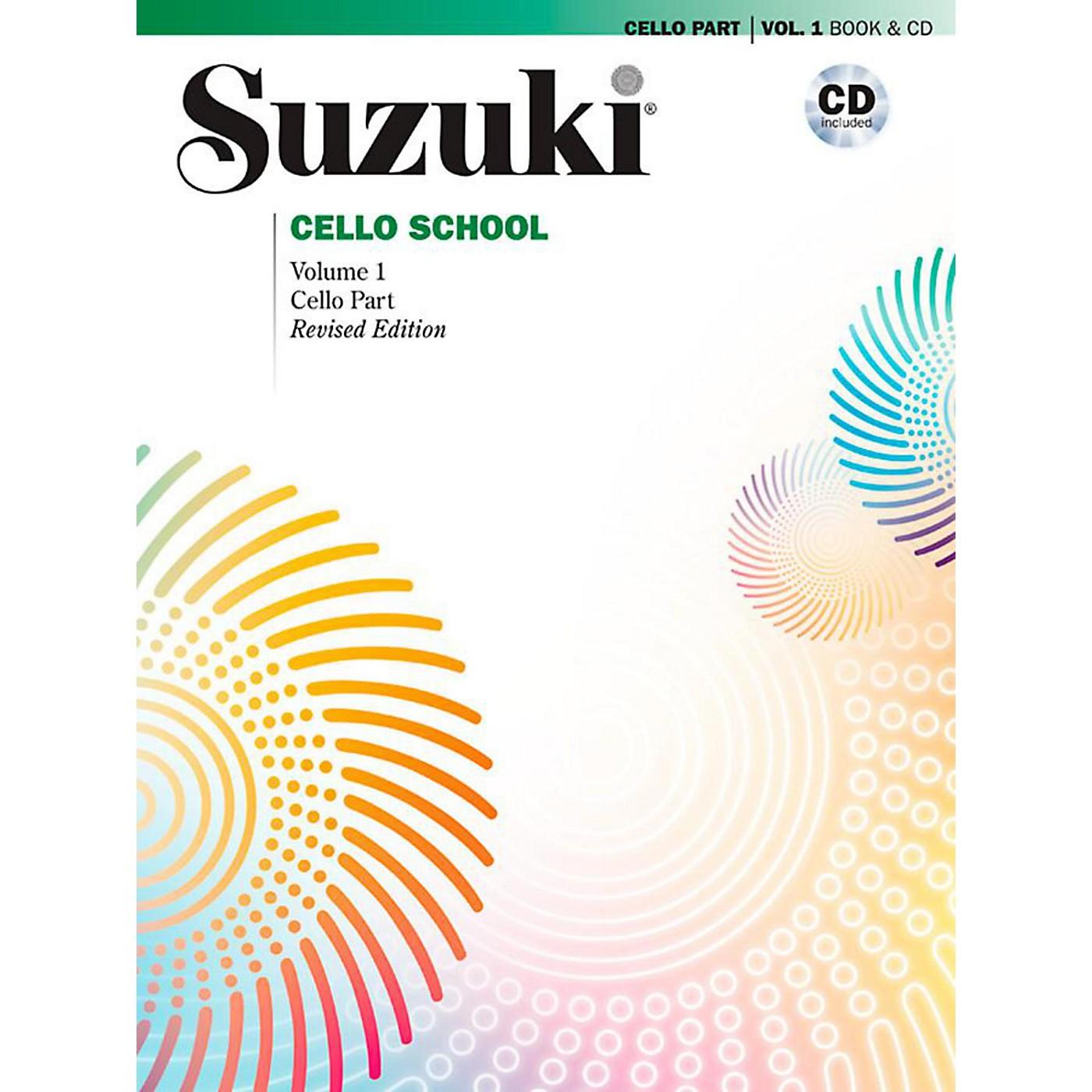 Alfred Suzuki Cello School Book & CD Volume 1 (Revised) thumbnail