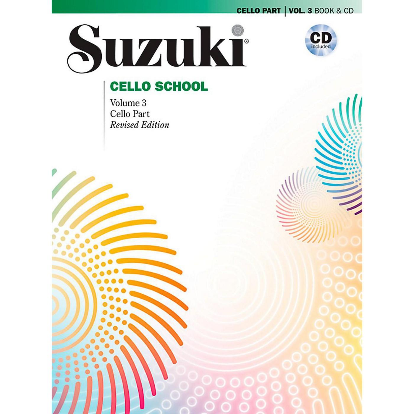 Suzuki Suzuki Cello School Book & CD Volume 3 (Revised) thumbnail