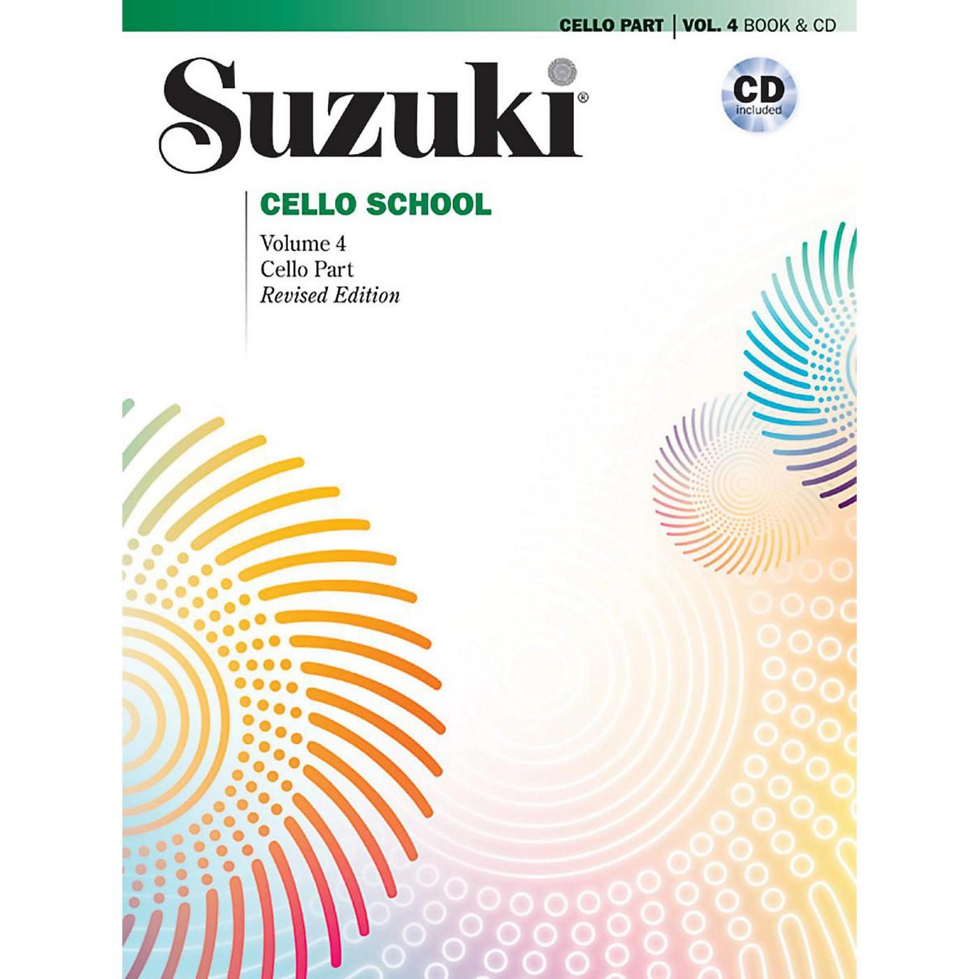 Suzuki Suzuki Cello School Book & CD Volume 4 (Revised) thumbnail