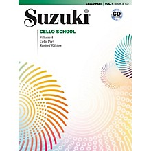 Suzuki Suzuki Cello School Book & CD Volume 4 (Revised)