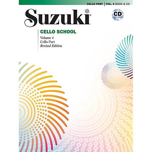 Suzuki Suzuki Cello School Book & CD Volume 4 (Revised) thumbnail
