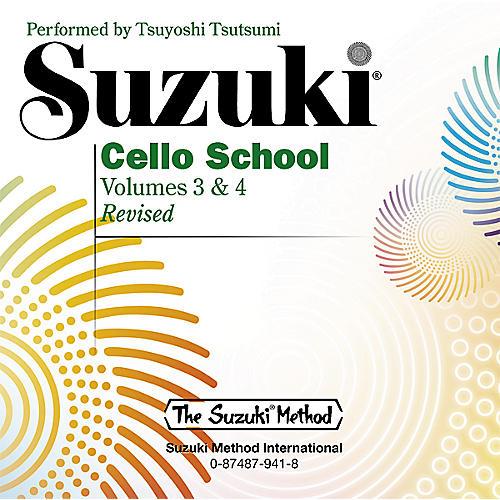 Alfred Suzuki Cello School CD, Volume 3 & 4 thumbnail