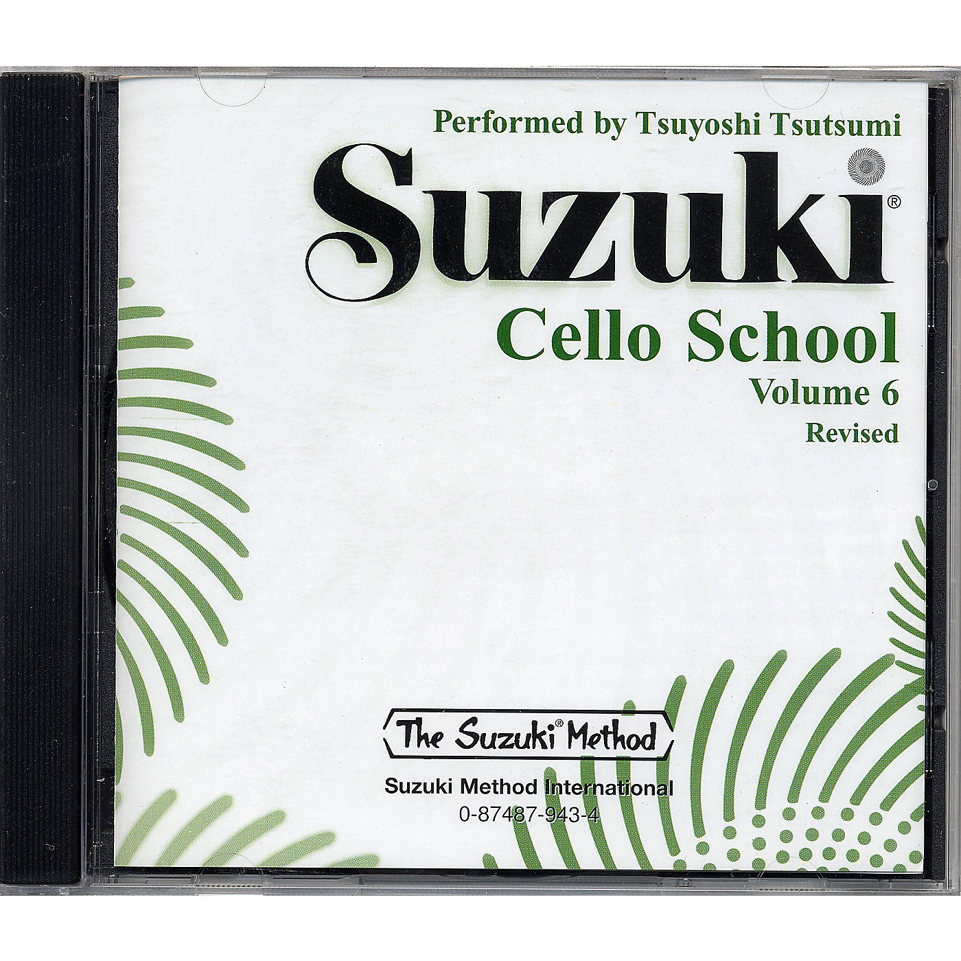 Alfred Suzuki Cello School CD, Volume 6 thumbnail