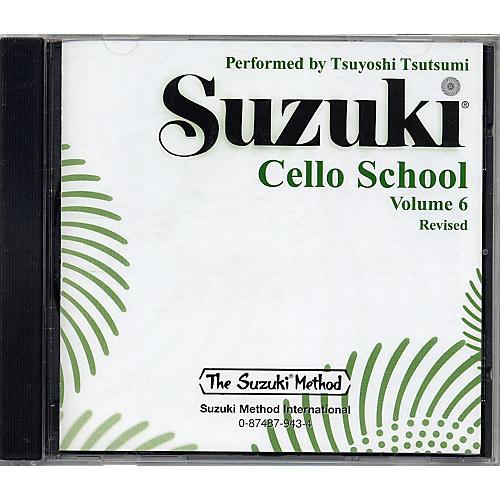 Alfred Suzuki Cello School CD, Volume 6 thumbnail