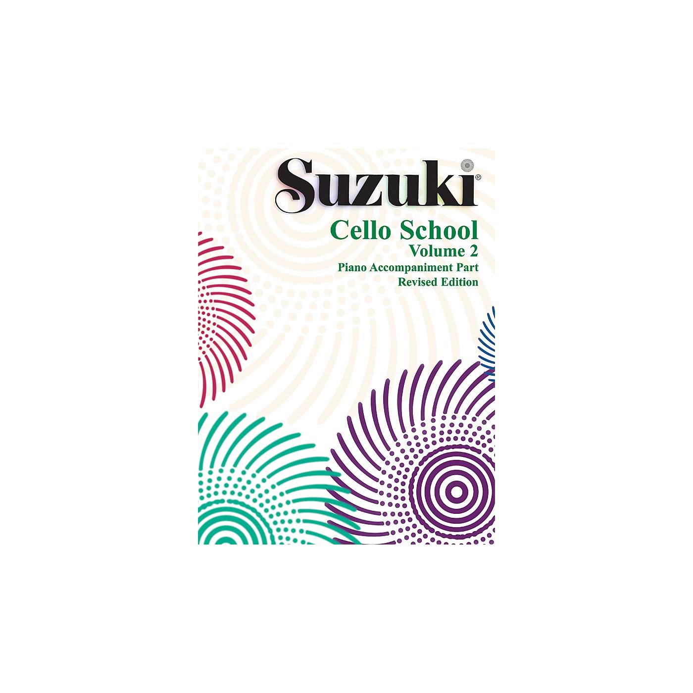 Alfred Suzuki Cello School Piano Accompaniment Volume 2 Book thumbnail