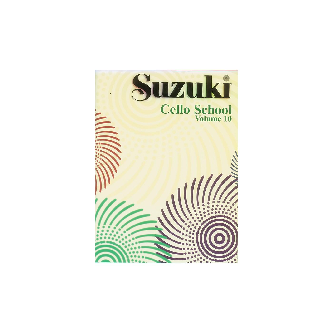 Alfred Suzuki Cello School Volume 10 (Book) thumbnail