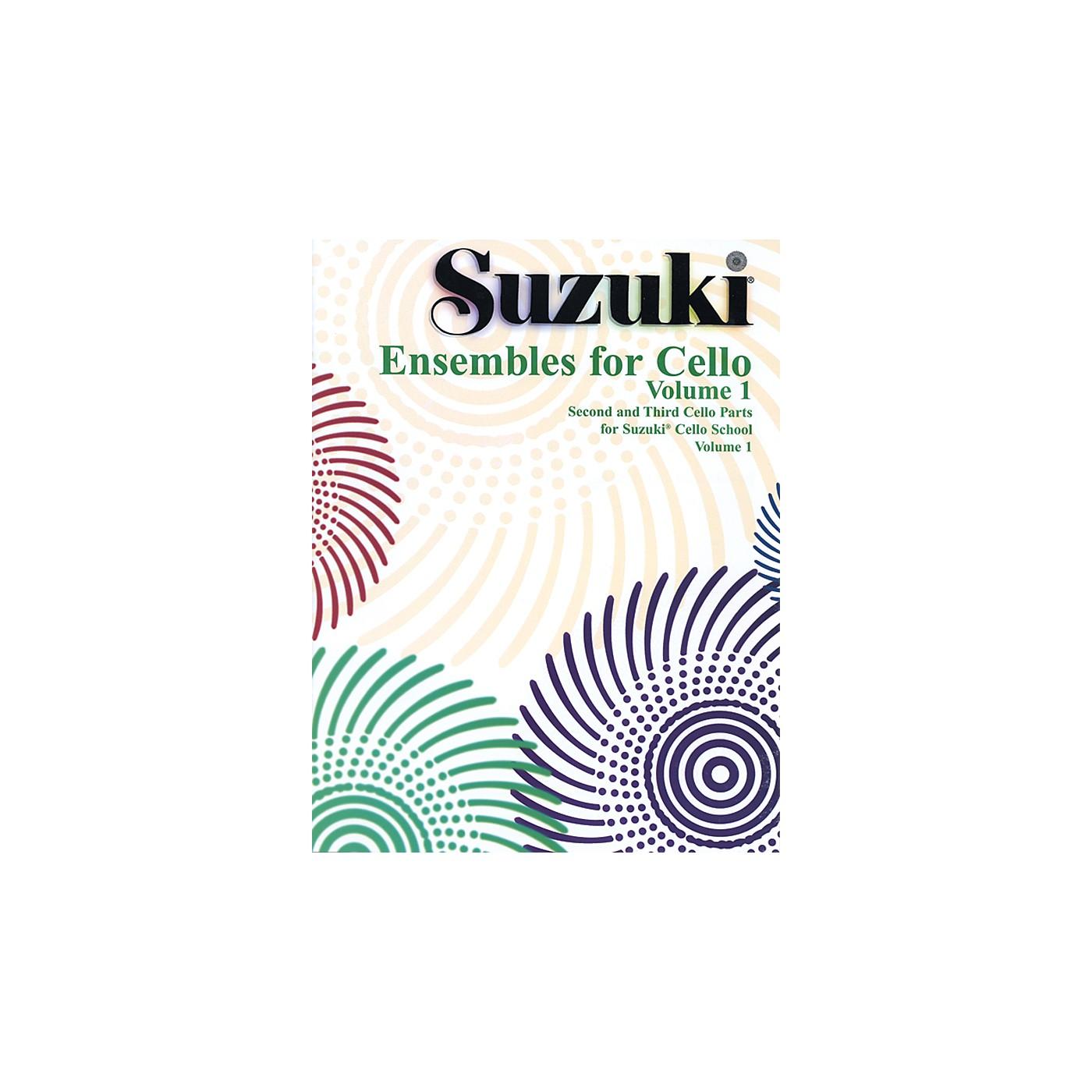 Alfred Suzuki Ensembles for Cello Volume 1 (Book) thumbnail