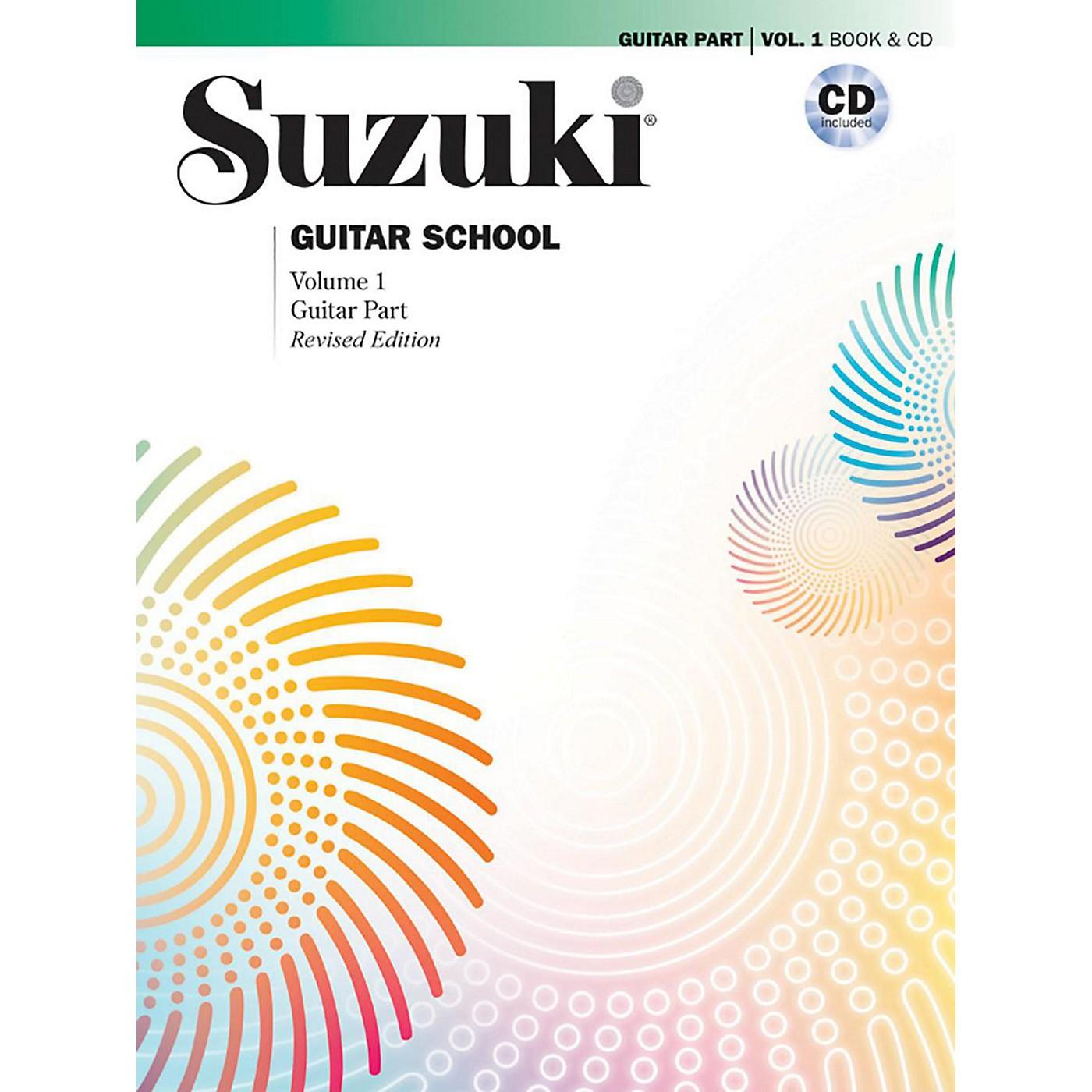 Suzuki Suzuki Guitar School Guitar Part & CD, Volume 1 Book & CD Revised thumbnail