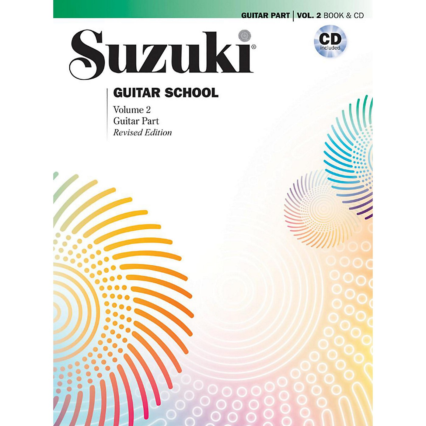 Suzuki Suzuki Guitar School Guitar Part & CD, Volume 2 Book & CD Revised thumbnail
