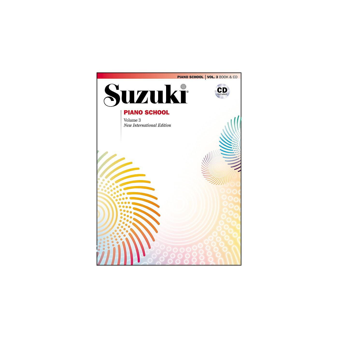 Suzuki Suzuki Piano School New International Edition Piano Book and CD Volume 3 thumbnail
