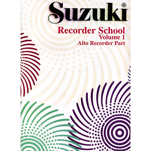 Alfred Suzuki Recorder School (Alto Recorder) Recorder Part Volume 1 thumbnail