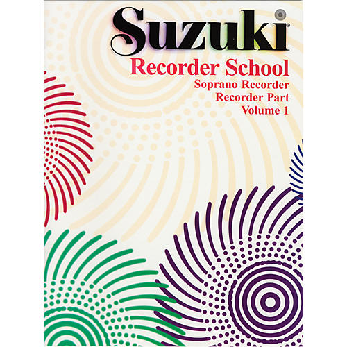 Alfred Suzuki Recorder School (Soprano Recorder) Recorder Part Volume 1 thumbnail