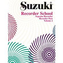 Alfred Suzuki Recorder School (Soprano Recorder) Recorder Part Volume 2