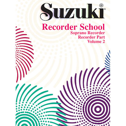 Alfred Suzuki Recorder School (Soprano Recorder) Recorder Part Volume 2 thumbnail