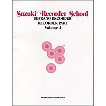 Alfred Suzuki Recorder School (Soprano Recorder) Recorder Part Volume 4