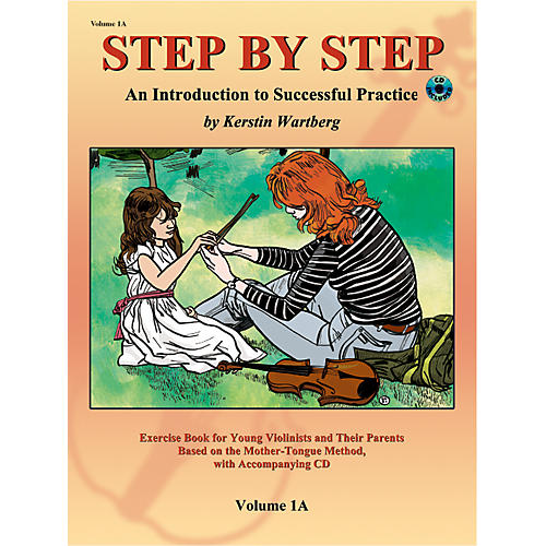 Alfred Suzuki Step by Step 1A: An Introduction to Successful Practice for Violin Book/CD thumbnail