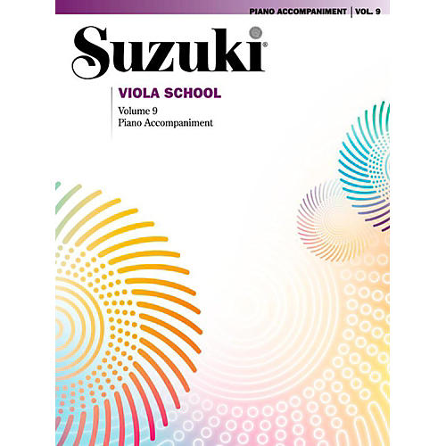 Suzuki Suzuki Viola School Piano Acc. Volume 9 Book thumbnail