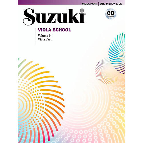 Suzuki Suzuki Viola School Viola Part Book & CD Volume 9 thumbnail