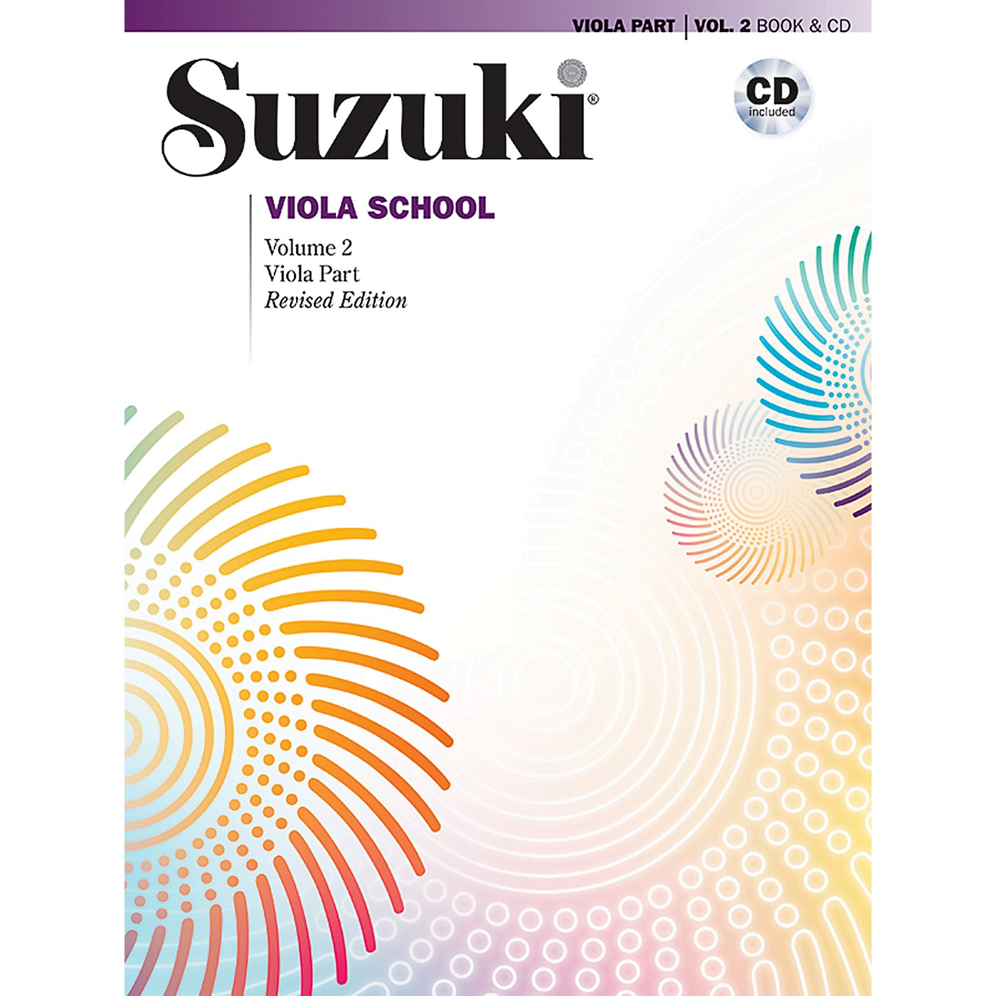 Alfred Suzuki Viola School Viola Part & CD Volume 2 (Revised) thumbnail