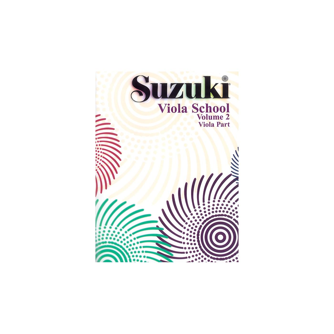 Alfred Suzuki Viola School Volume 2 (Book) thumbnail