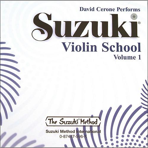 Alfred Suzuki Violin School CD, Volume 1 (Suzuki) thumbnail