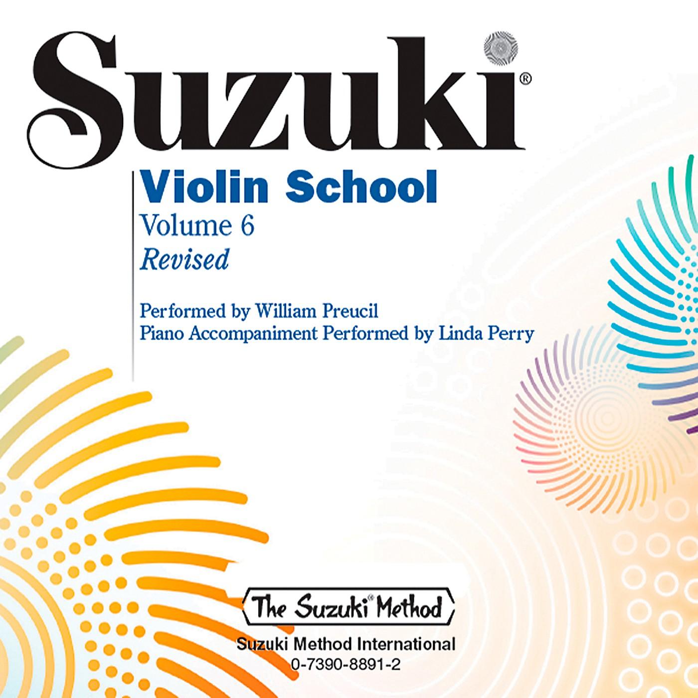 Alfred Suzuki Violin School CD Volume 6 Revised thumbnail