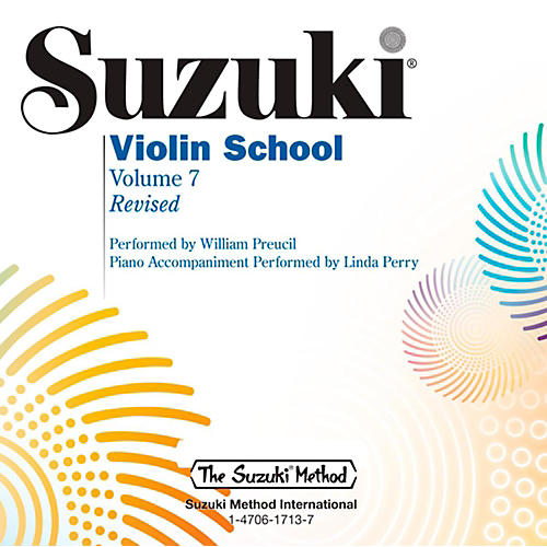 Suzuki Suzuki Violin School CD Volume 7 (Revised) thumbnail