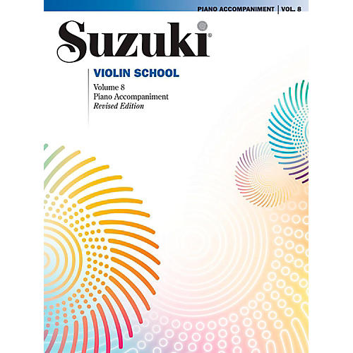 Suzuki Suzuki Violin School Piano Acc. Volume 8 Book thumbnail