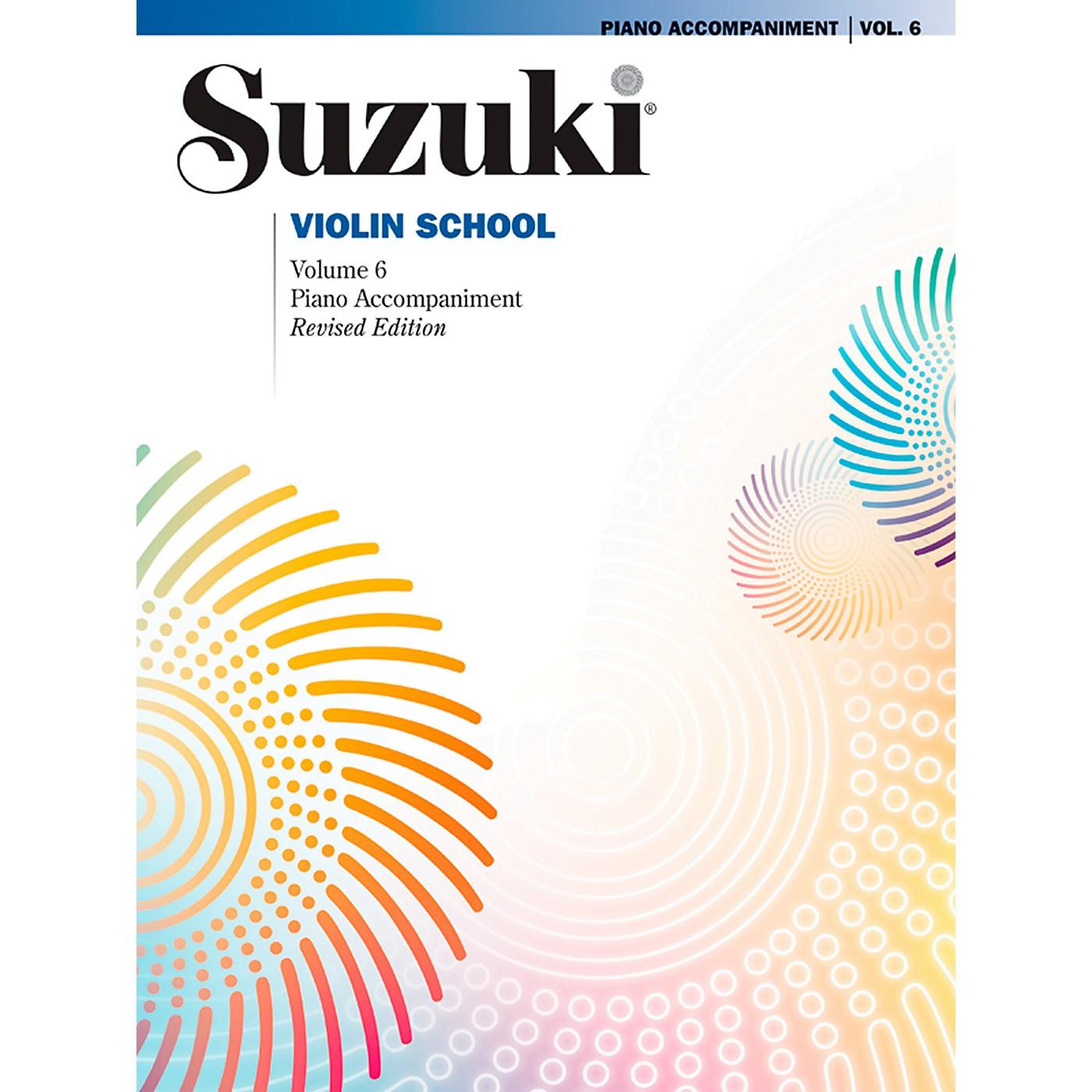 Alfred Suzuki Violin School Piano Accompaniment Volume 6 Book thumbnail