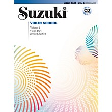 Alfred Suzuki Violin School Violin Part & CD Volume 1