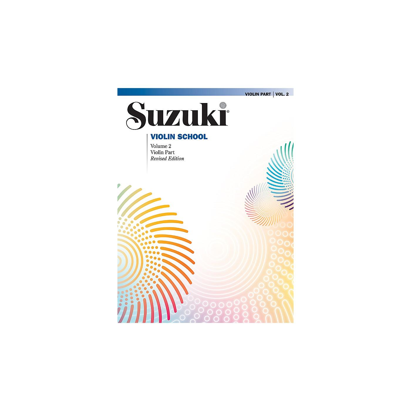Alfred Suzuki Violin School Violin Part Volume 2 International Edition thumbnail