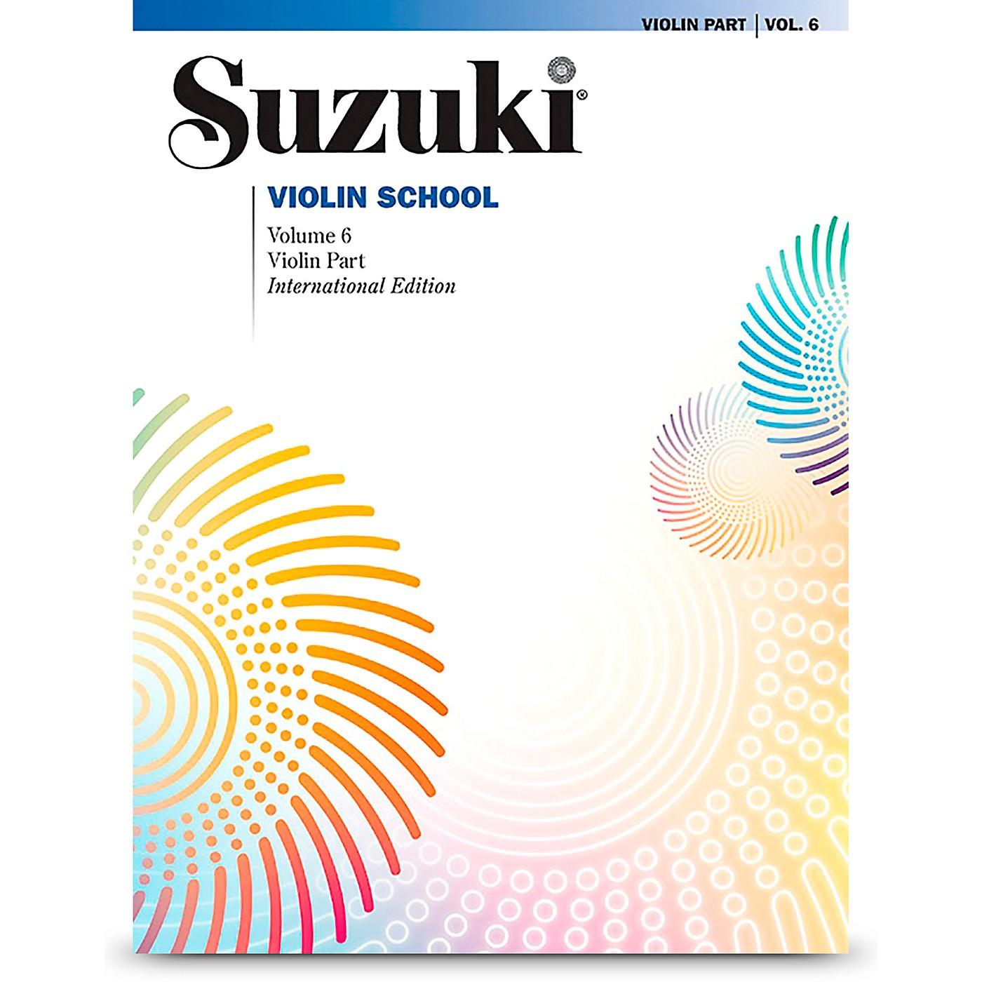 Alfred Suzuki Violin School Violin Part Volume 6 Revised Book thumbnail